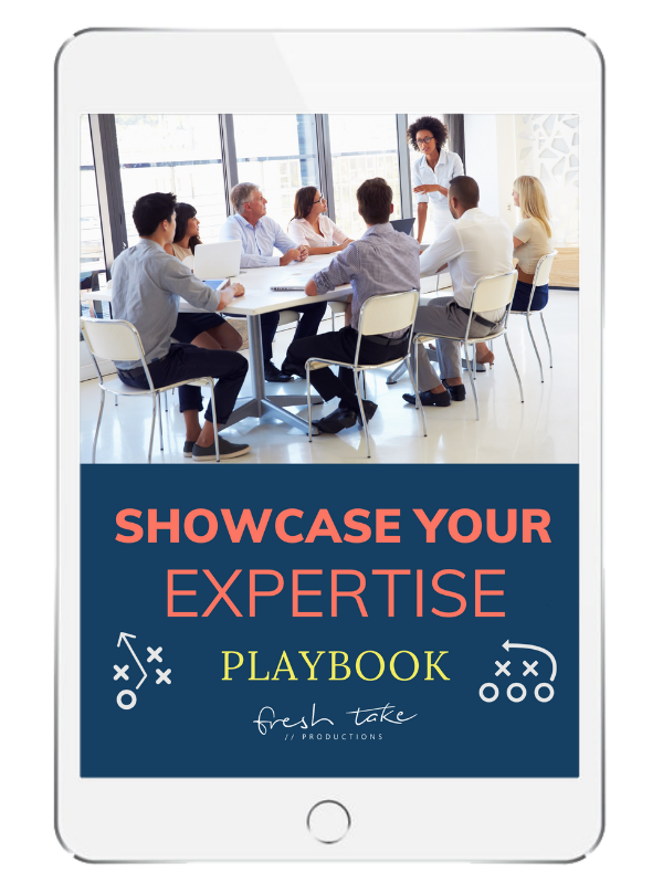 Showcase Your Expertise Playbook