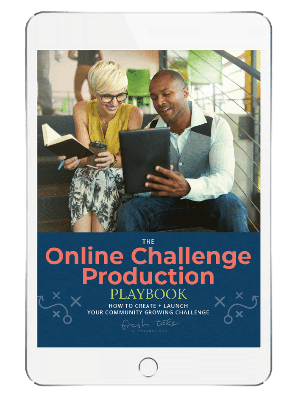 online challenge production