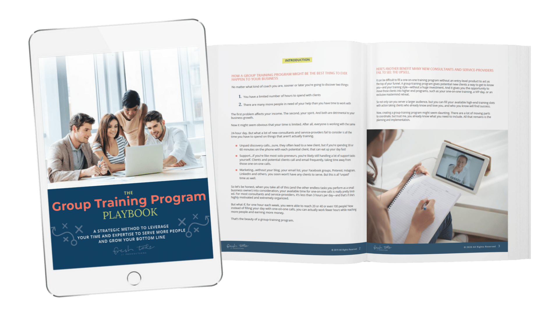 group training program playbook