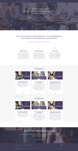 Thinkific Home Page
